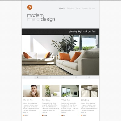 Facebook themes facebook templates facebook fan page for Interior design facebook pages