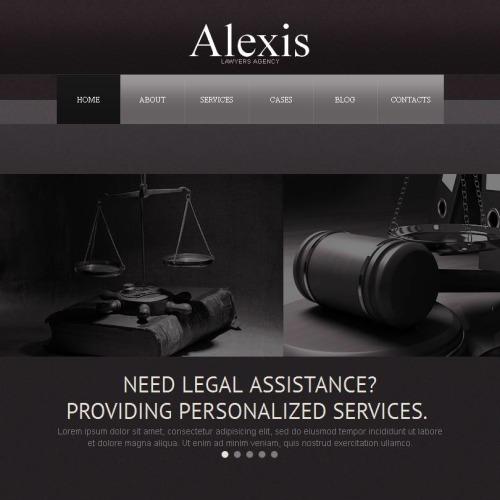 Alexis - Facebook HTML CMS Template