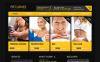 Modèle Moto CMS HTML  pour site de club de fitness New Screenshots BIG