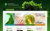 Prémium Gyógyfűkereskedés  Moto CMS HTML sablon New Screenshots BIG