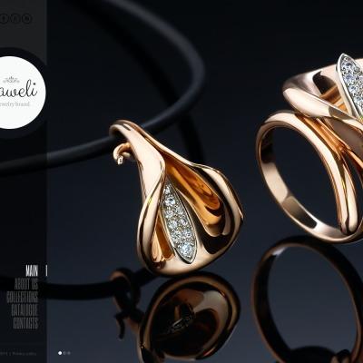Template siti web di gioielli for Siti cinesi gioielli