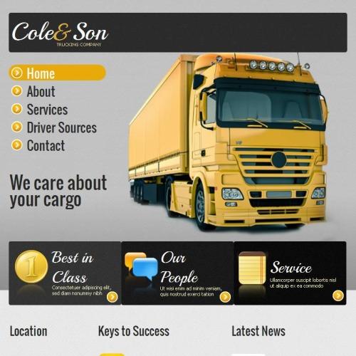 Cole & Son - Facebook HTML CMS Template