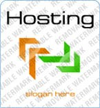 Web Hosting Logo  Template 4411