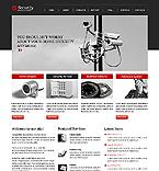 Security Website  Template 44001