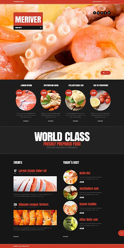 Drupal Template 44019 Main Page Screenshot