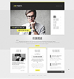Personal Page WordPress Template 44020