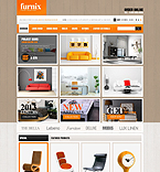 Furniture OpenCart  Template 44024