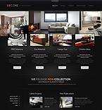 Furniture Website  Template 44030