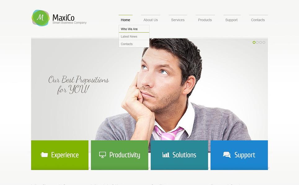 Responsywny szablon strony www #44033 na temat: usługi doradcze New Screenshots BIG