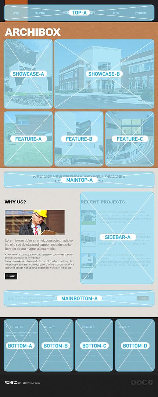 Joomla Theme/Template 44046 Main Page Screenshot