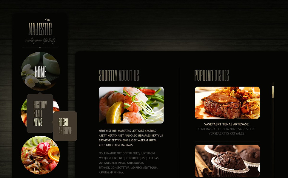 Bootstrap Főzés Weboldal sablon New Screenshots BIG