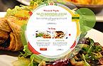Cafe & Restaurant Website  Template 44066