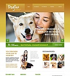 Animals & Pets Moto CMS HTML  Template 44086