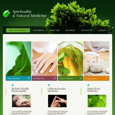 Herbal Templates Templatemonster