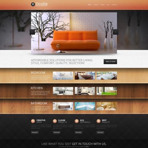 Oculte - Drupal Interior Designer Template