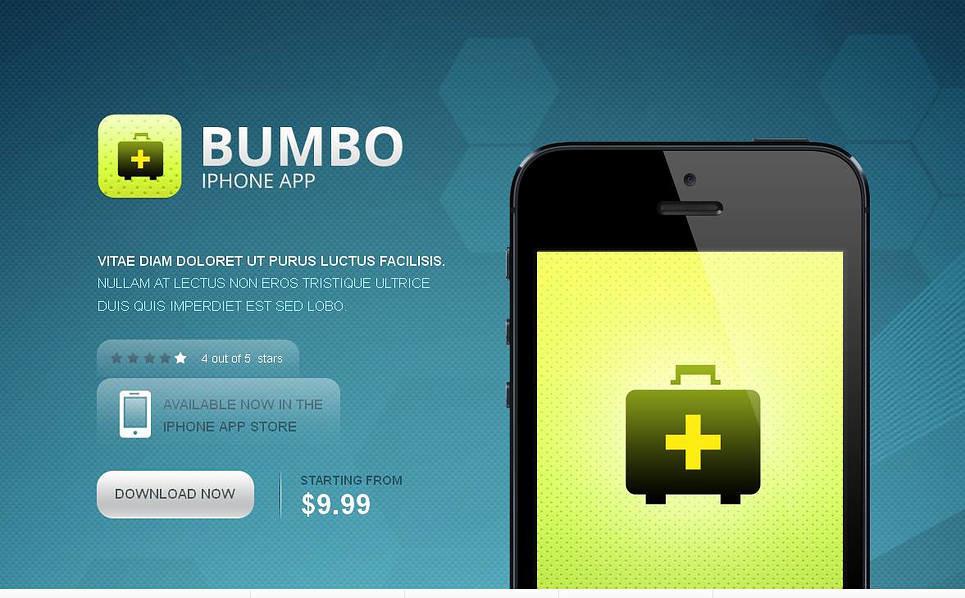 Moto CMS HTML Vorlage für Software Store  New Screenshots BIG