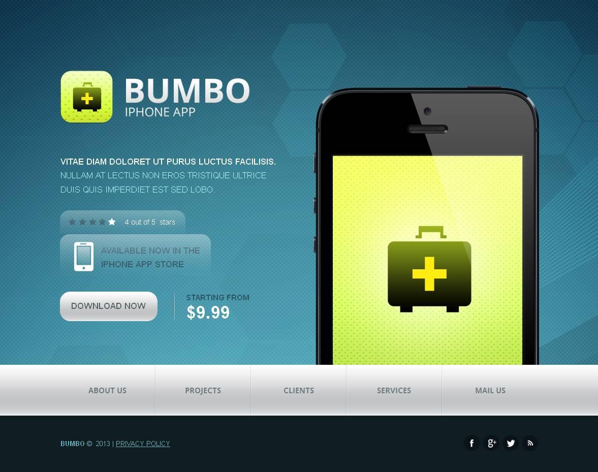 Plantilla Moto CMS HTML #44082 para Sitio de Tienda de Software - captura de pantalla
