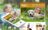 Prémium Kutyák témakörű  Moto CMS HTML sablon New Screenshots BIG