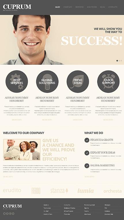 WordPress Theme/Template 44107 Main Page Screenshot