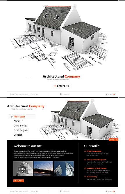 ADOBE Photoshop Template 44112 Home Page Screenshot