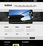 Architecture Flash CMS  Template 44113