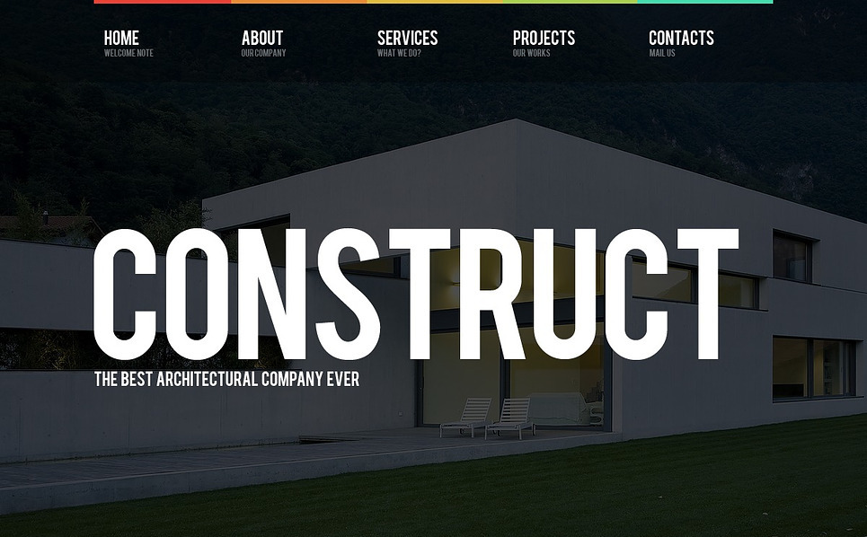 Template Flash CMS para Sites de Empresa de Construção Civil №44118 New Screenshots BIG