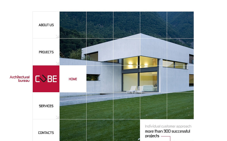 Szablon Flash CMS #44120 na temat: architektura New Screenshots BIG