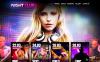 Premium Flash CMS-mall för Natt klubb New Screenshots BIG