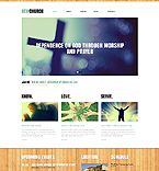 Religious Website  Template 44130