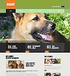 Animals & Pets Website  Template 44131