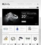 Jewelry OpenCart  Template 44137