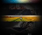 Art & Photography Website  Template 44152