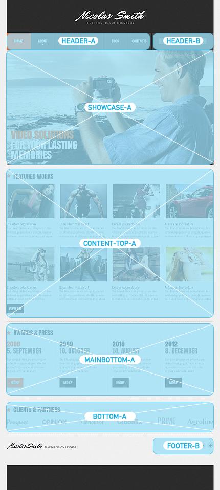 Joomla Theme/Template 44157 Main Page Screenshot