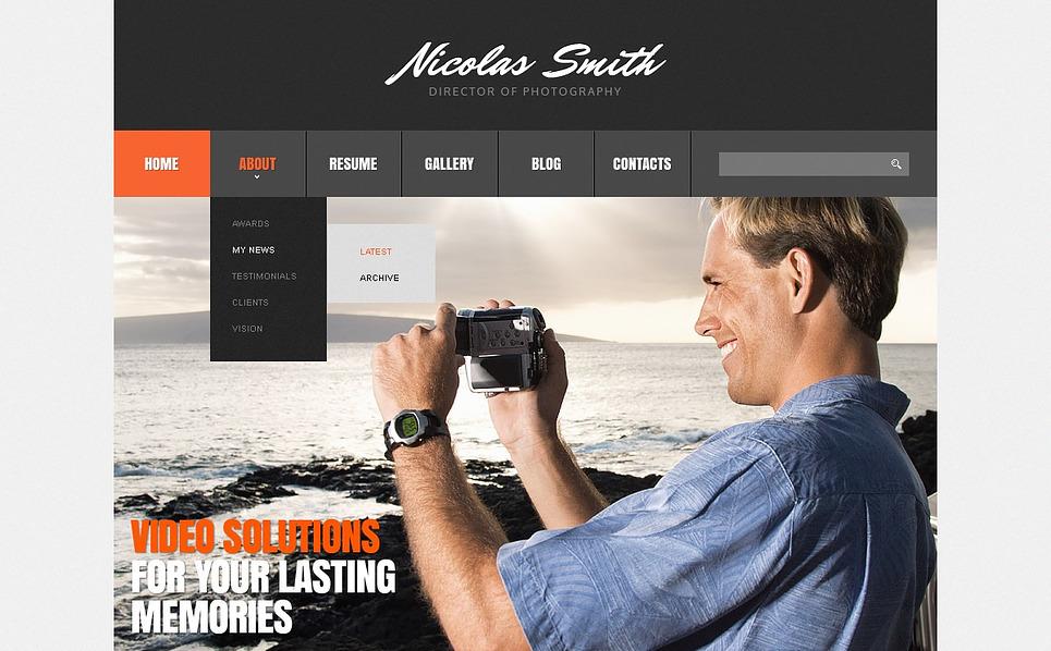 Responsive Joomla Template over Fotograaf Portfolio New Screenshots BIG