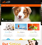 Animals & Pets WordPress Template 44159