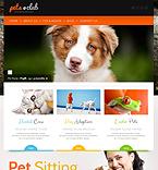 Animals & Pets WordPress Template 44159