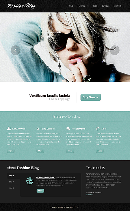 Joomla Theme/Template 44160 Main Page Screenshot