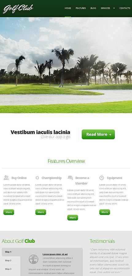 Joomla Theme/Template 44163 Main Page Screenshot