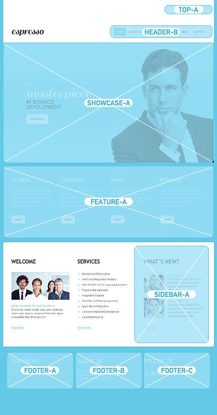 Joomla Theme/Template 44170 Main Page Screenshot