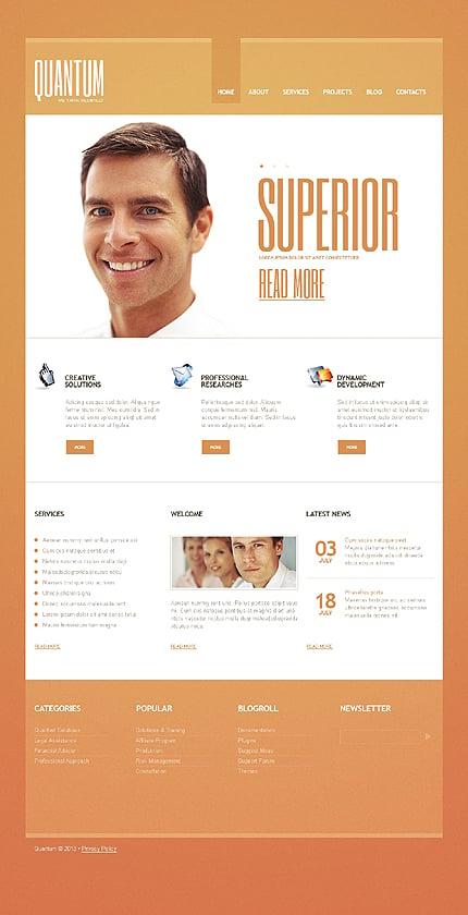 Joomla Theme/Template 44180 Main Page Screenshot