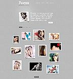 Art & Photography Website  Template 44186