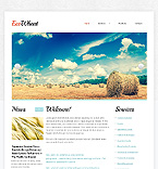 Agriculture Website  Template 44193