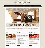 Hotels Website  Template 44197