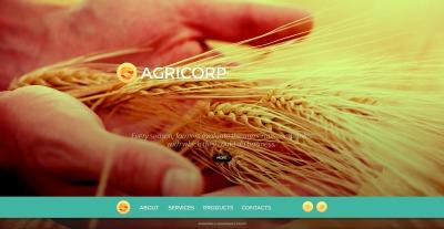 Agriculture Šablona Webových Stránek