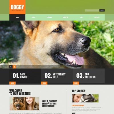 dog website templates. Black Bedroom Furniture Sets. Home Design Ideas