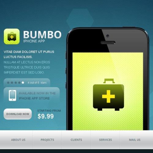 Bumbo - Facebook HTML CMS Template