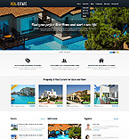 Real Estate WordPress Template 44205