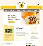 Food & Drink Moto CMS HTML  Template 44215