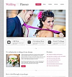 Wedding Moto CMS HTML  Template 44225