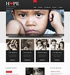 Charity Moto CMS HTML  Template 44229